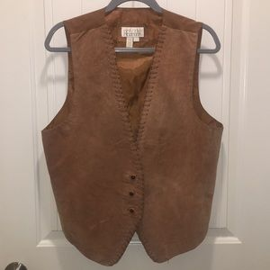 Ivy club leather vest